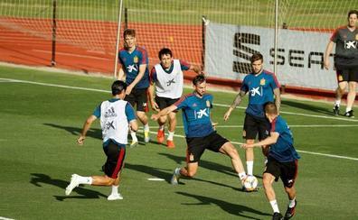 Oyarzabal y Llorente ya están concentrados con la selección