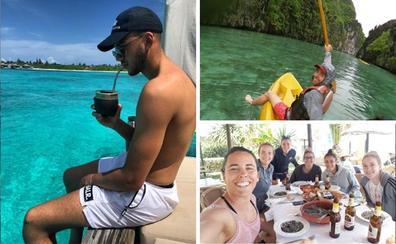 Vacaciones de la Real Sociedad: Tú a Maldivas y yo a 'Cadizfornia'