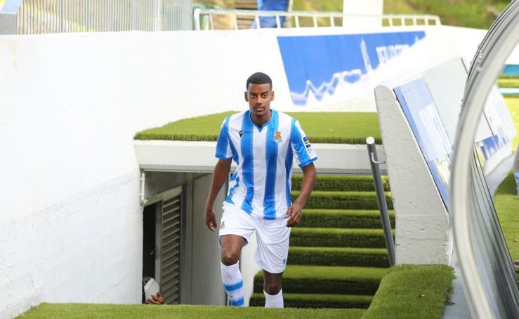 Isak, nuevo jugador de la Real Sociedad