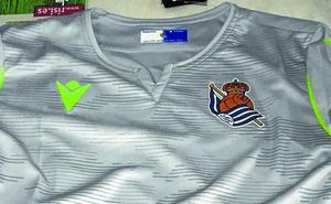La camiseta de la Real Sociedad no estará en venta hasta final de mes