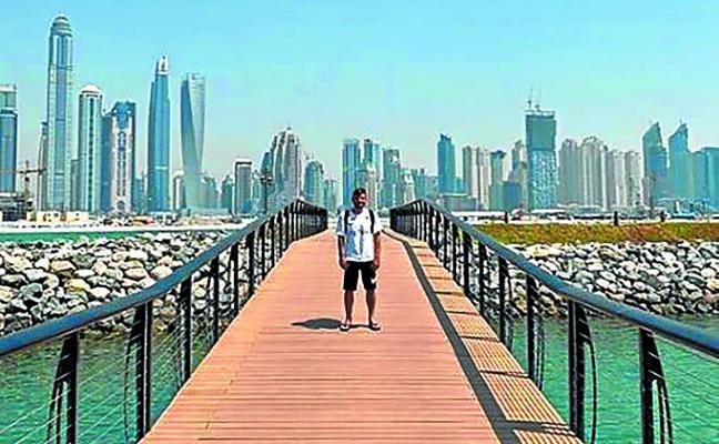 El futbolista, de luna de miel, en Dubai