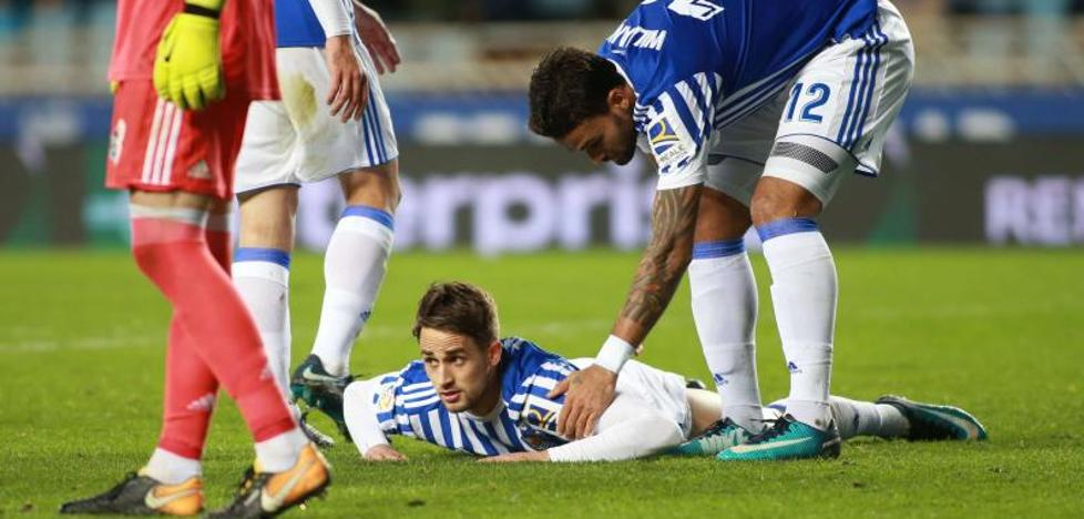 Lo que queda en la Real Sociedad: un lateral izquierdo veterano y pendientes de Willian José y Januzaj