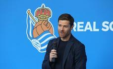 Presentación de Xabi Alonso como nuevo entrenador del Sanse