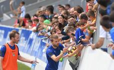 El balón continúa siendo el principal protagonista en los entrenamientos de la Real Sociedad