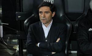 Marcelino: «La Real nos va a exigir mucho a nivel defensivo»