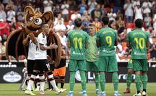 Las mejores imágenes del Valencia - Real Sociedad