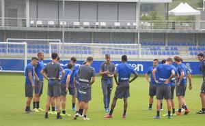Entrenamiento para los suplentes del Valencia - Real Sociedad