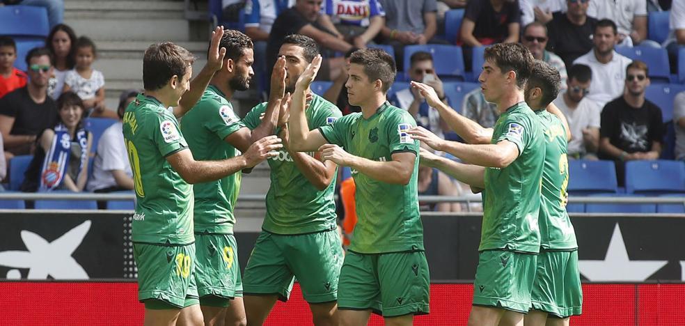 Espanyol-Real Sociedad: Con dos 'nueves' así la vida es más fácil
