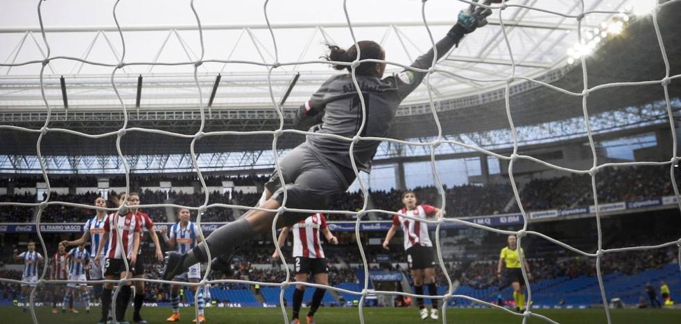 La Real jugará el derbi femenino contra el Athletic el domingo 13 de octubre en el Reale Arena