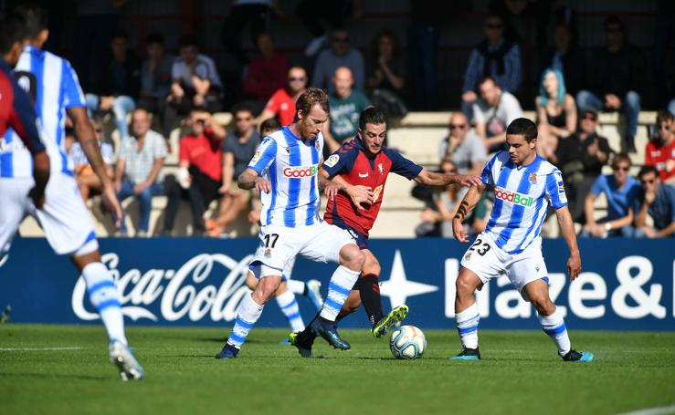 Empate sin goles entre Real y Osasuna