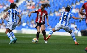 Las chicas de la Real Sociedad ante el Athletic, una a una