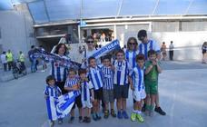 El mejor ambiente en las gradas de Anoeta durante el derbi Real - Athletic