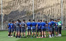 Barrenetxea participa en el último entrenamiento antes del partido contra el Espanyol