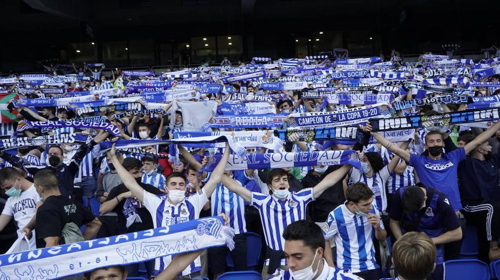 Las mejores imágenes del partido entre la Real Sociedad y el Mónaco en Anoeta