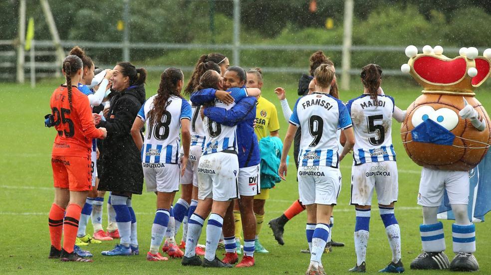 Las imágenes de la goleada de la Real al Villarreal