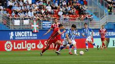 Empate de mérito de la Real Sociedad B ante la Ponferradina