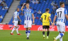 Las mejores imágenes del partido entre la Real Sociedad B y el Oviedo