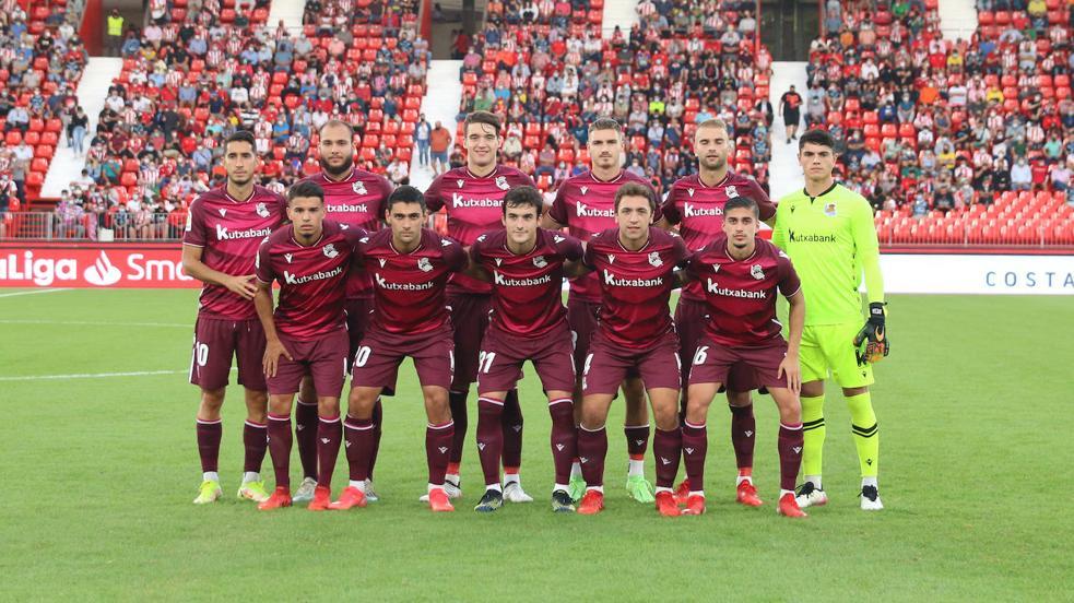 Las mejores imágenes del partido entre el Almería y la Real Sociedad B