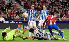 Sigue en directo el partido entre el Atlético de Madrid y la Real Sociedad