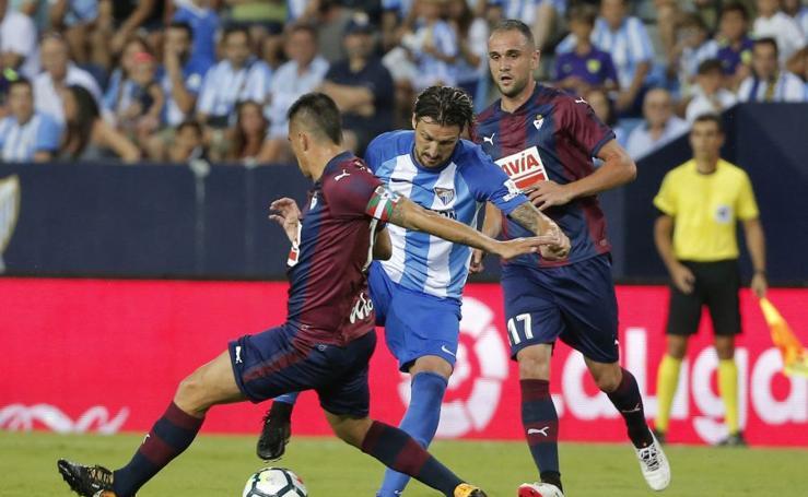 Málaga 0 - Eibar 1