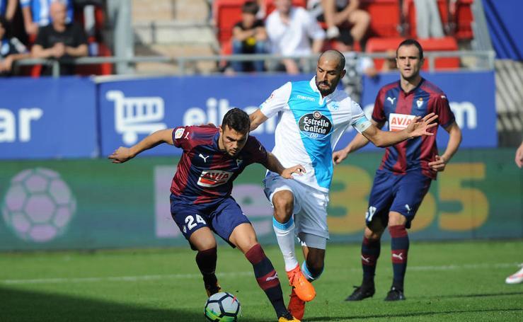 El Eibar y el Deportivo empatan sin goles en Ipurua