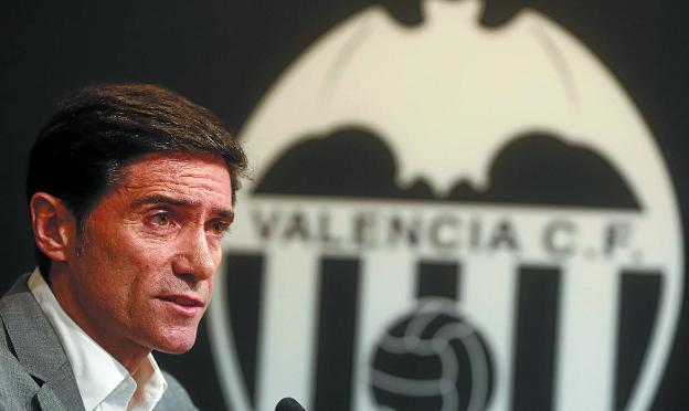 Marcelino ha impuesto su sello en Valencia. /  EFE