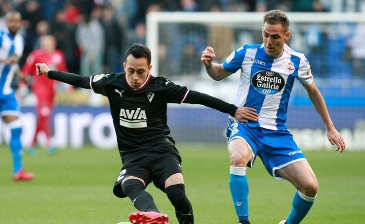 Deportivo-Eibar, en imágenes
