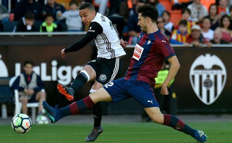 Las imágenes del partido del Valencia- Eibar