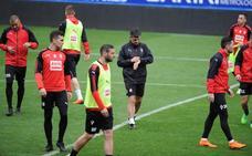La plantilla del Eibar empieza a preparar el choque con Las Palmas