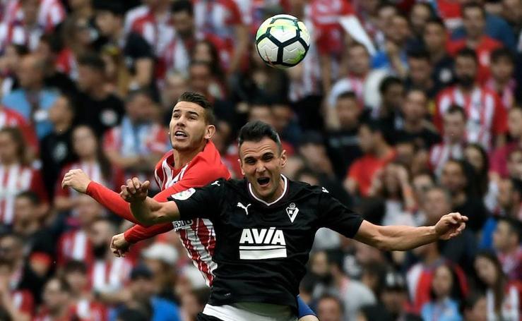 El Atlético de Madrid y el Eibar se despiden de La Liga 2017-2018 en el Wanda