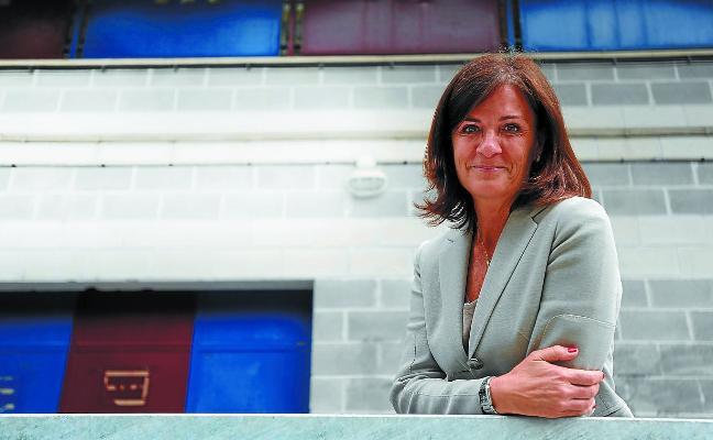 Amaia Gorostiza: «Necesitamos instalaciones a la altura de Primera que nos permitan crecer y nos aporten patrimonio»