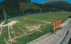 El Eibar acomete obras de mejora en su 'santuario' de Atxabalpe