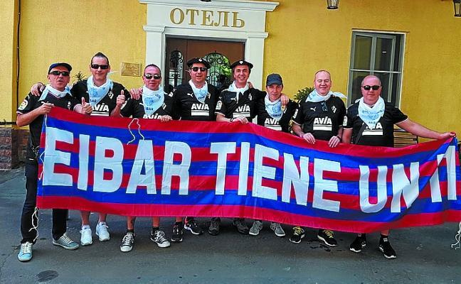 Dmitrovic, Inui... y ocho eibarreses