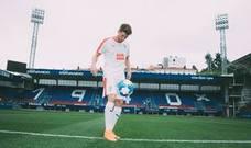 Marc Cardona, presentado como nuevo jugador del Eibar