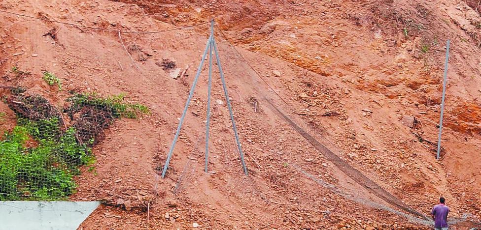 Primeros pasos del nuevo proyecto en el anexo de Ipurua