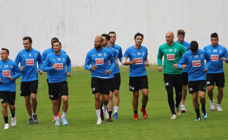 El Eibar, listo para la Liga