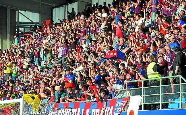 El Eibar, el que menos abonados tiene en la Liga: 5.000