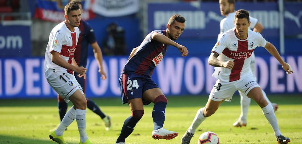 El Eibar tiene un balance de tres victorias y dos derrotas en sus jornadas inaugurales en Primera