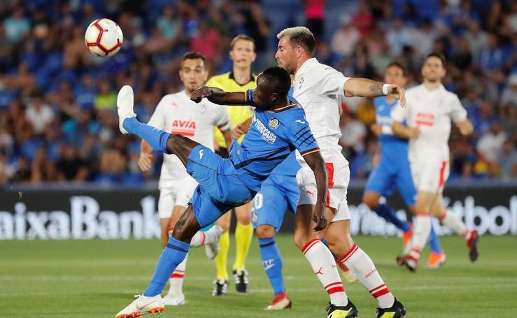 El Eibar cae en Getafe (2-0)