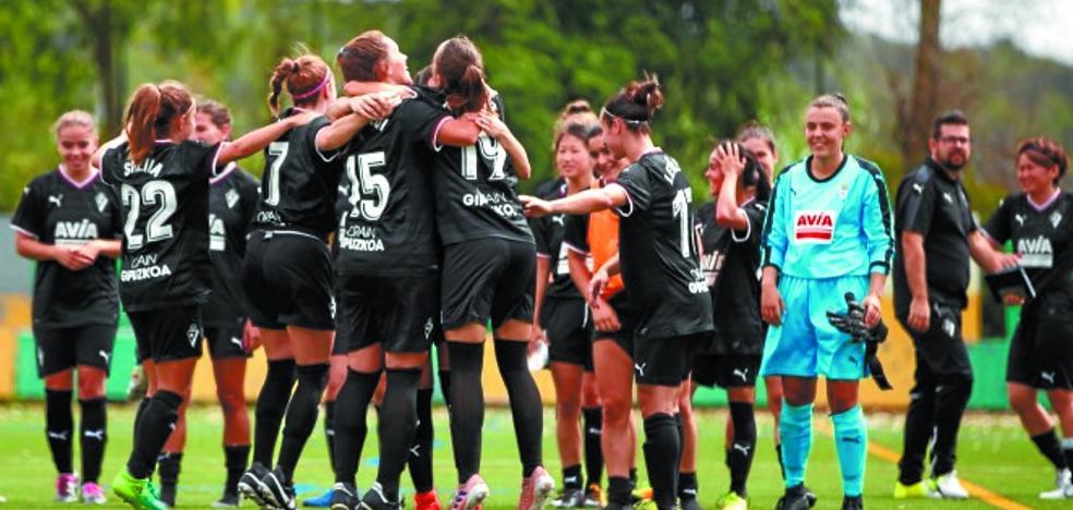 El Eibar femenino arranca el sábado la liga con el objetivo del ascenso