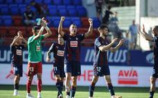 El uno a uno de la victoria del Eibar ante el Leganés (1-0)