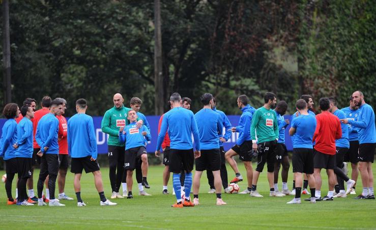 El Eibar prepara el choque frente al Girona