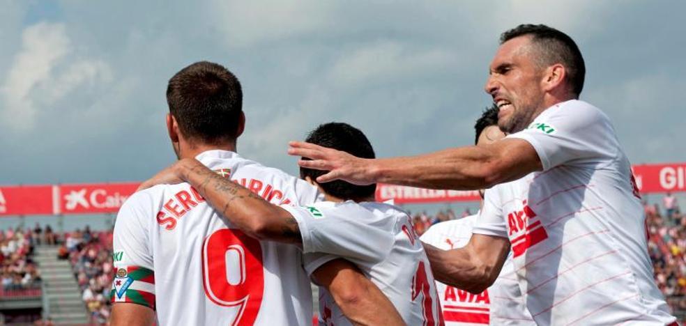 El uno a uno de la victoria del Eibar ante el Girona