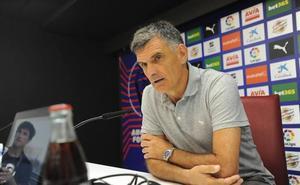 Mendilibar destaca que el derbi ante el Athletic será complicado para los dos