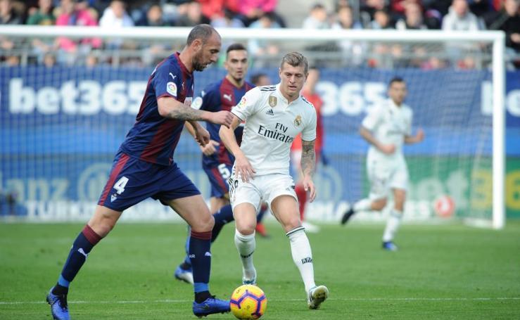 Las imágenes del Eibar - Real Madrid