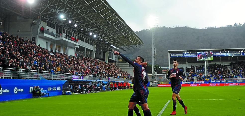 El Eibar encara una durísima recta final de la primera vuelta