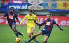 Uno a uno del Eibar en el empate frente al Villarreal
