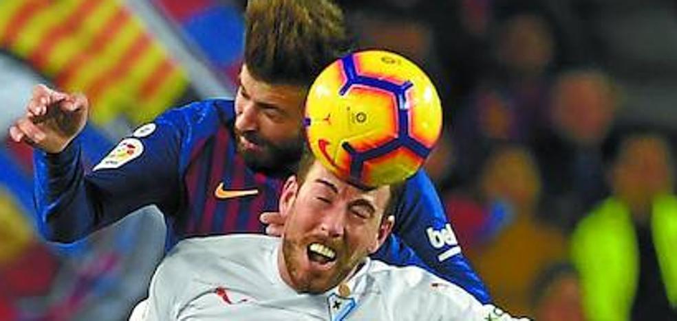 Uno a uno del Eibar en la derrota frente al Barcelona