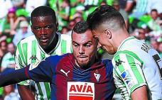 Uno a uno del Eibar en el empate frente al Betis