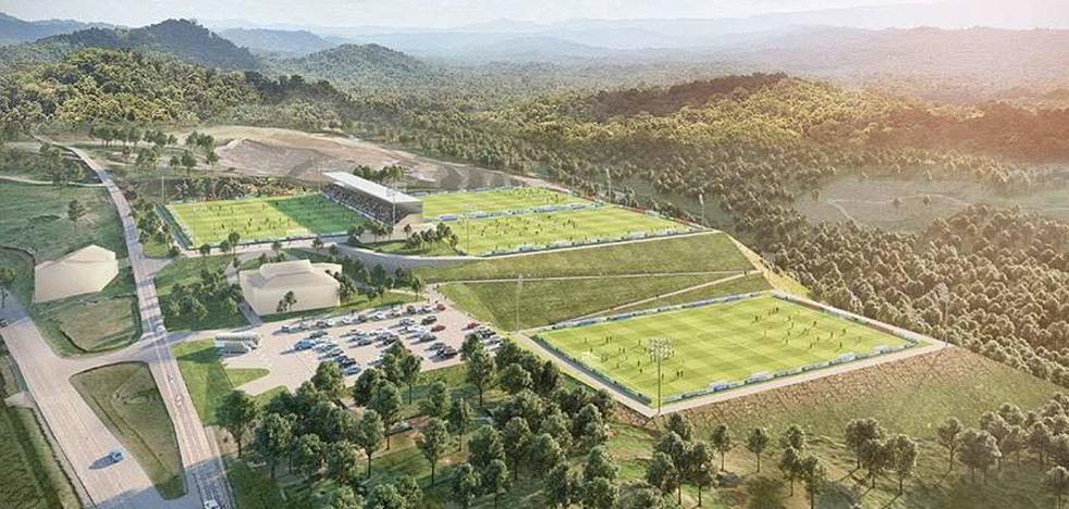 La ciudad deportiva de Areitio contará con cinco campos de fútbol